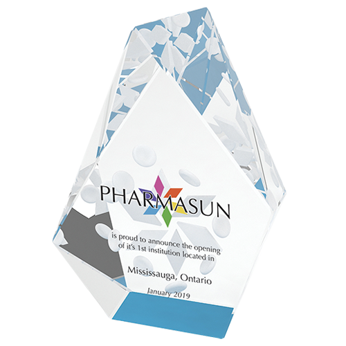 3D Etched Crystal (Pharmasun)