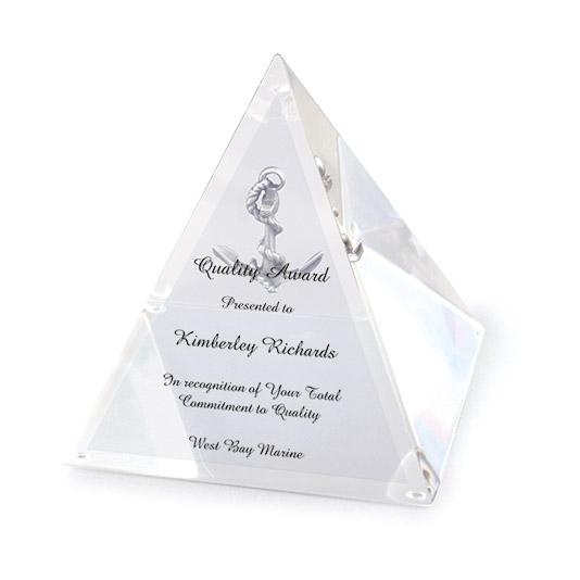 Acrylic Pyramid 1